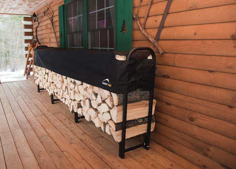 Firewood Racks and Storage & Firewood Racks and Storage | Creative Shelters
