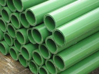 Custom Green Pvc 1 Inch Pipe Order